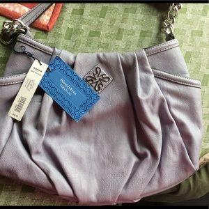 Vera Wang Simply Vera Lilac Handbag NWT